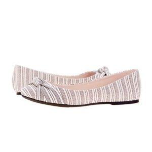 Shoes - Striped ballet flats